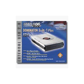 Mad Dog Multimedia DOMINATOR 3 in 1 Plus 52X CD RW