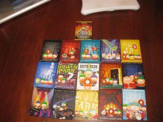 South Park DVD Collection Seasons 1 15 Plus South Park Movie