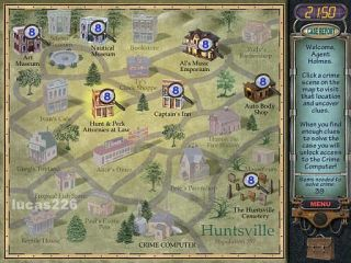 Huntsville Mystery Case Files PC Game Adventure New 047875353572