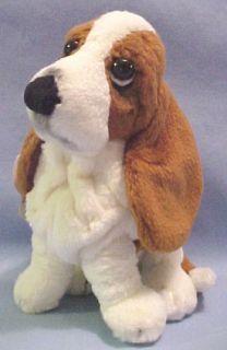 Hush Puppies Basset Hound Dog Puppy Original Sitting