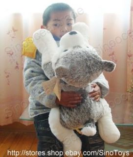 Giant high quality plush What a cute siberian husky puppy Perfect