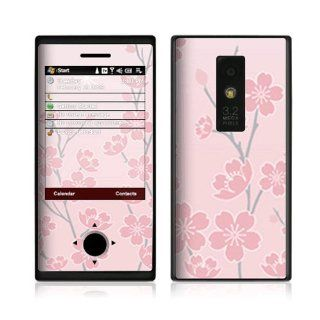 Cherry Blossom Decorative Skin Cover Decal Sticker for HTC