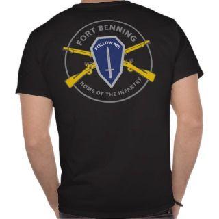 Fort Benning Infantry T Shirts