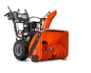 Husqvarna 11524E 24 Two Stage Snow Blower 6 6 HP Briggs Engine Snow