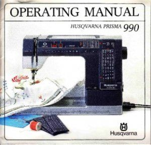 Viking Husqvarna 990 Sewing Machine Manual CD