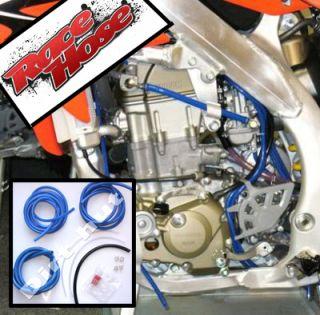 Husqvarna TE TC 4 Stroke Carburettor Fuel Hose Kit Blue