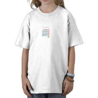 The God Particle Higgs Boson and Standard Model Shirt