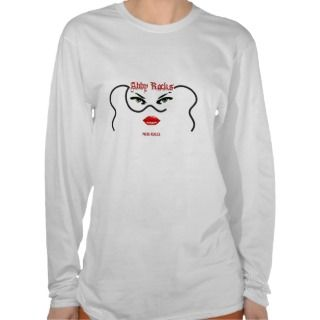 NCIS ABBY ROCKS NCIS RULES T SHIRTS