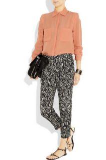 By Malene Birger Aicha crepe blouse   60% Off