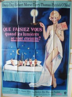 Where Were You When The Lights Went Out 47x63 French 1970 Doris Day