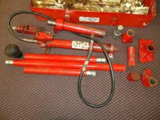 Hydraulic heavy duty 10 ton jack body frame repair kit ss high