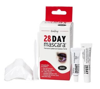 Godefroy  Mascara on Godefroy 28 Day Mascara Black Permanent Eyelash Tint Kit Contains 25