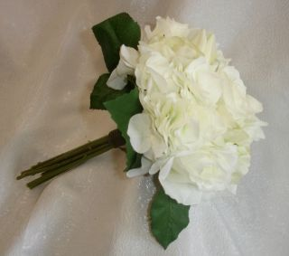 Cream White Roses Tulips Bridal Bouquet Wedding Flowers