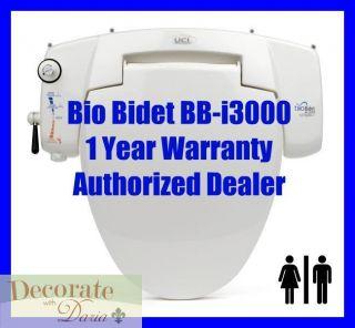 BB i3000 Universal Fit Toilet Seat Enema Jet Wash Personal Hygiene New