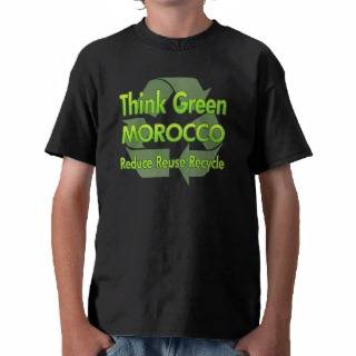 Think Green Jordan T shirts