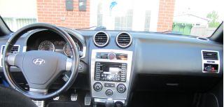 Hyundai Tiburon SE GT Interior Brushed Aluminum Dash Trim Kit Set 2007