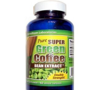 PACK PURE SUPER GREEN COFFEE BEAN EXTRACT 800 MG 60 + 60 + 60 VEGGIE