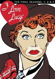 Preorder Nov 6 I Love Lucy Final Seasons 7 8 9 New 4 DVD Set