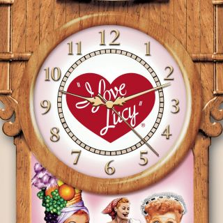 Officially Licensed I Love Lucy 60th Anniversary Cuckoo Clock