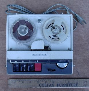 Panasonic RQ300S 3 inch Reel to Reel Tape Recorder Player