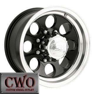 20 Black ion 171 Wheels Rims 5x139 7 5 Lug Dodge RAM Dakota Durango