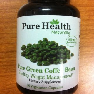 Pure Health 100 Green Coffee Bean Extract 30 Capsules as Seen on Dr Oz