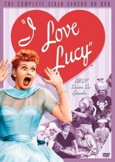 Love Lucy The Complete Sixth Season 4 Discs New DVD