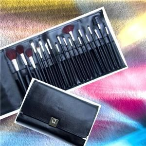 20pc Essential Natural Hair Makeup Brush Set High Quality Value Soft