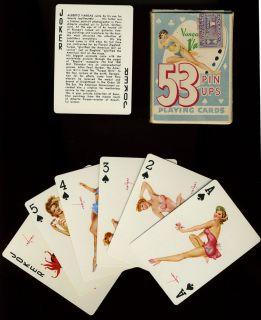 53 Vargas Girls Pin Up Playing Cards in Original Box Vargas Vanities