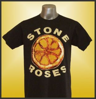 Stone Roses Ian Brown Grey T Shirt Size s M L