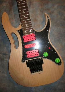 Ibanez Jem Electric Project Guitar DIY Kit COMPLETE Made in USA Body