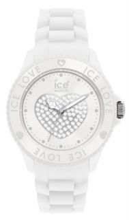 Ice Love White Sili Heart Ice Watch Unisex Lo We U S