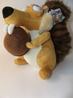 Ice Age 3 Stuff Plush Toy Scrat Squirrel Doll 100 New