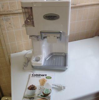 Cuisinart Ice 45 Mix It in Soft Serve Ice Cream Maker w Manual