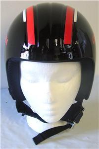 Race Fireball Snow Ski Snowboard Helmet Black Size 56 Small New