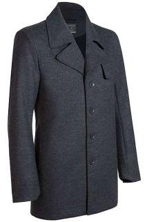 Icebreaker Legacy Trench Coat Mens Jacket XL Black XXL L M s Wool