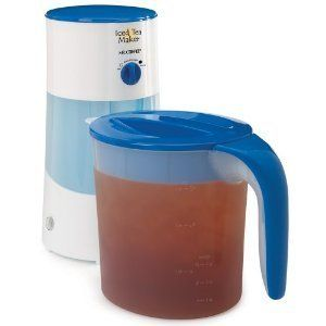 Mr. Coffee TM70 3 Quart Iced Tea Maker New Machines Iced Espresso Tea