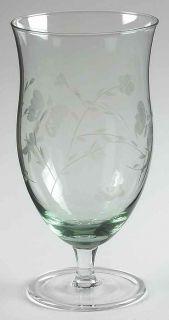 Lenox Butterfly Meadow 18 oz Green Iced Tea Glass