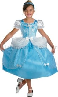 Licensed Disney Princess Cinderella Child Costume Medium