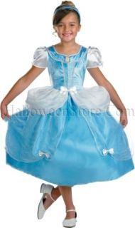 Licensed Disney Princess Cinderella Child Costume Medium