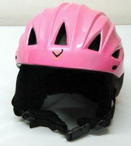 OVO Ladies Snow Ski Snowboard Helmet Pink Small