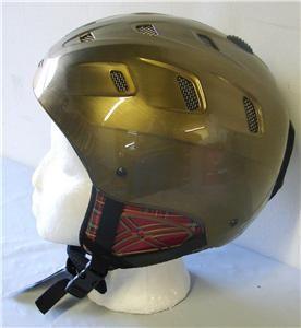 Sniper Snow Ski Snowboard Helmet Bronze Size 58 Medium New