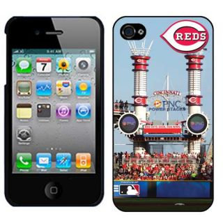 Cincinnati Reds Great American Ball Park Stadium iPhone 4 Case Black