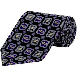Baltimore Ravens Medallion Silk Tie Black