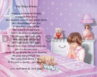 we create the perfect gift for your niece on this beautiful bedtime