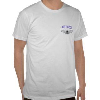 Air Force Enlisted Aircrew Badge Shirt