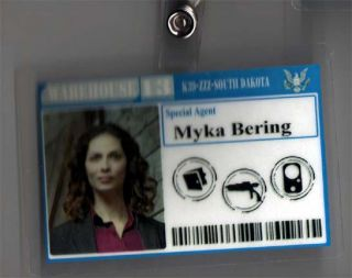 Warehouse 13 ID Badge Special Agent Myka Bering