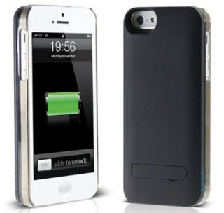 2013 Ifans Apple iPhone 5 Black Aluminum Battery Pack Case Cooler Than