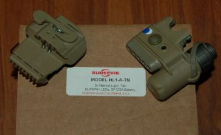 Helmet Light HL1 A Blue White LED IR IFF Army USMC ACH LWH USGI