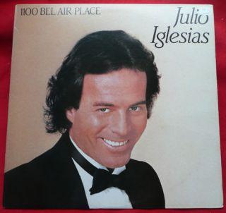 Julio Iglesias LP 1100 Bel Air Place Vinyl Record Latin